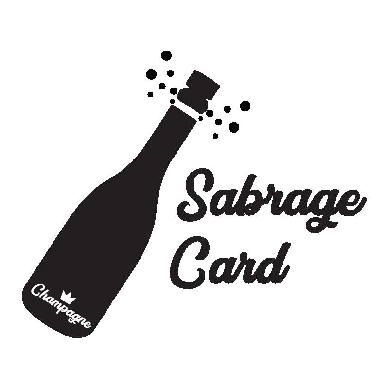 Sabrage Card